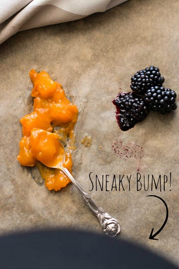 Blackberry Apricot Turnovers | savorynothings.com