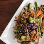 Soba Noodles with Honey Soy Chicken