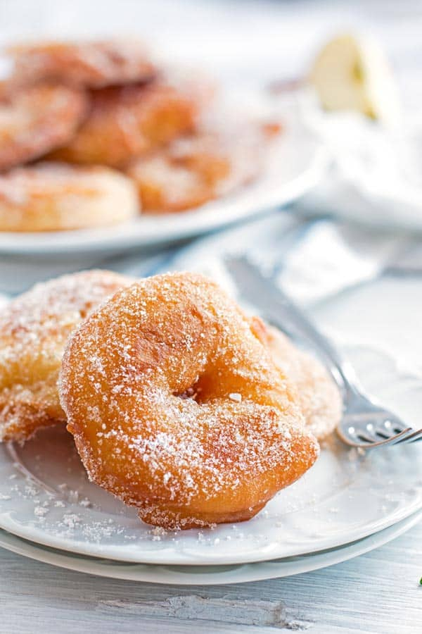 Apple Fritter Recipe With Cinnamon Sugar An Easy Fall Dessert