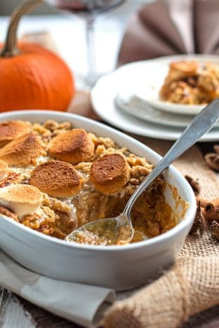 Perfect Blender Sweet Potato Casserole