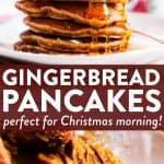 Gingerbread Pancakes Pin 1