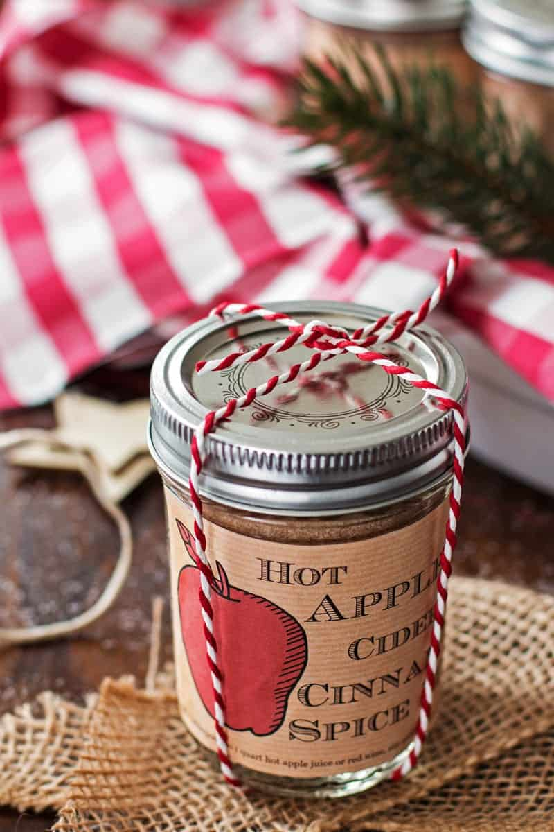 This recipe for homemade Hot Apple Cider Cinnamon Spice Mix is amazing ...