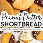Peanut Butter Shortbread Pin Image 1