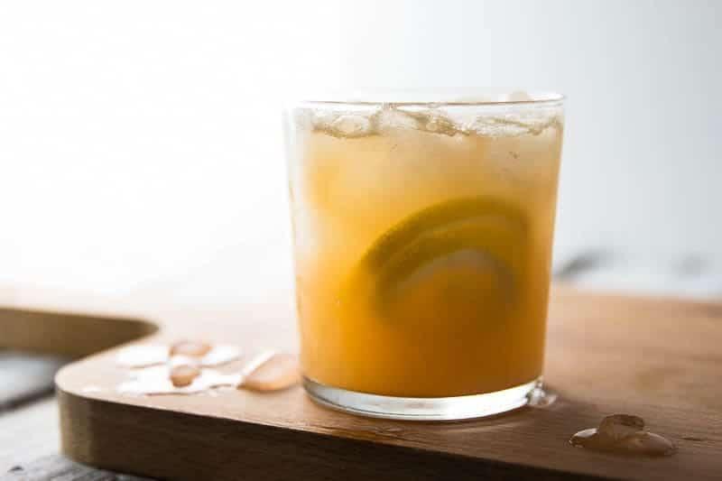 Spiced green tea ginger lemonade savory nothings - Lemonade recipes popular less known ...