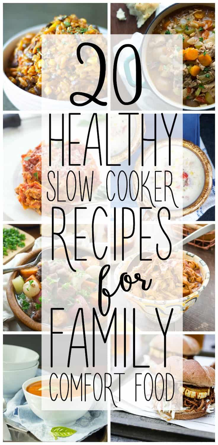 Healthy slow cooker recipes the best easy comfort food dinner ideas the holiday season is busy and full of treats so let these 20 healthy slow forumfinder Image collections