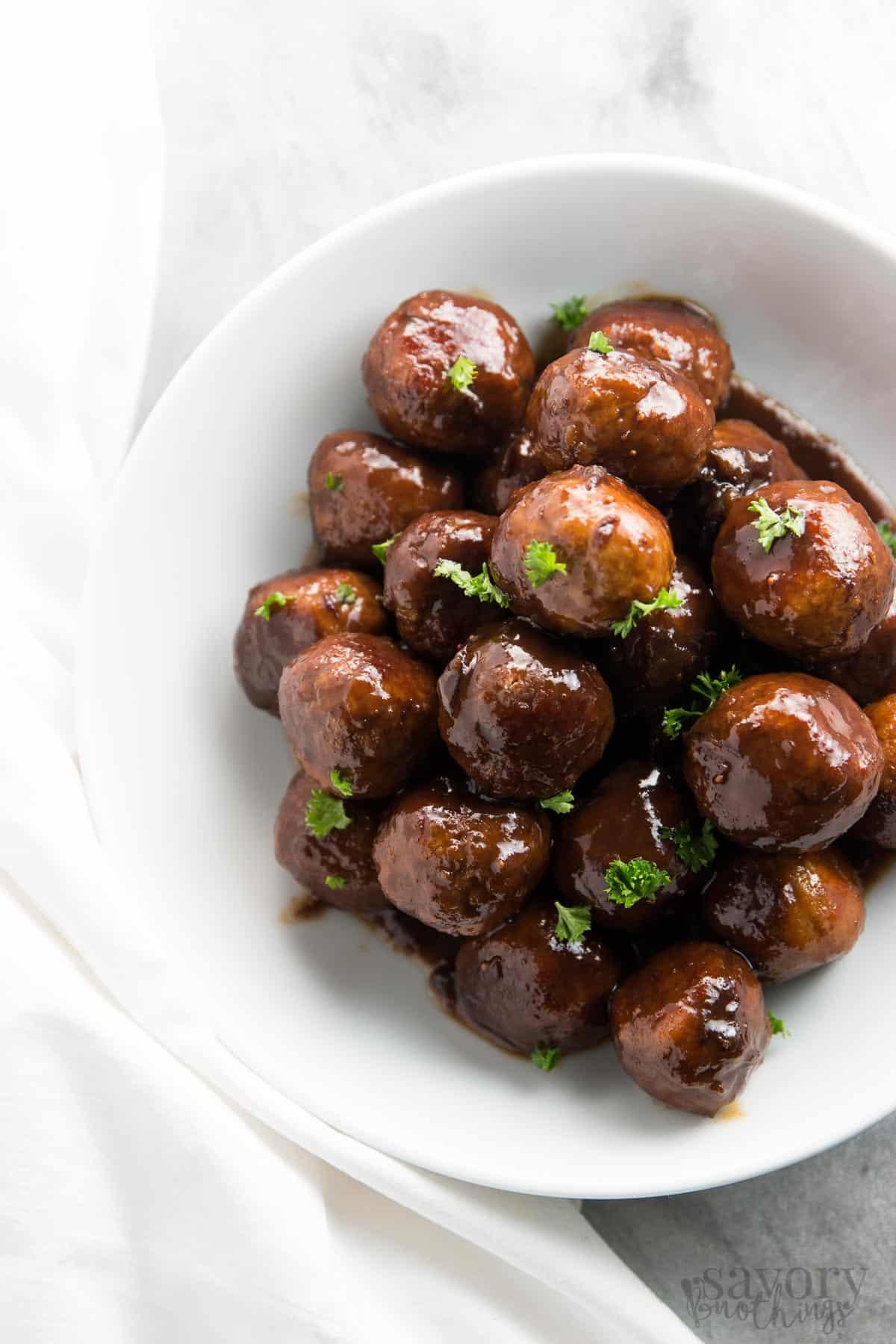 Turkey meatball recipes crock pot easy