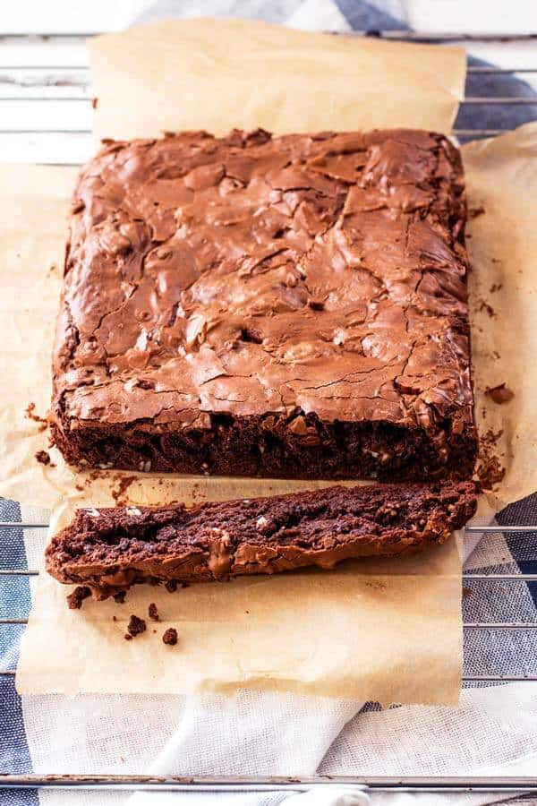 The Best Brownies Recipe Thick Fudgy Chewy and PERFECT