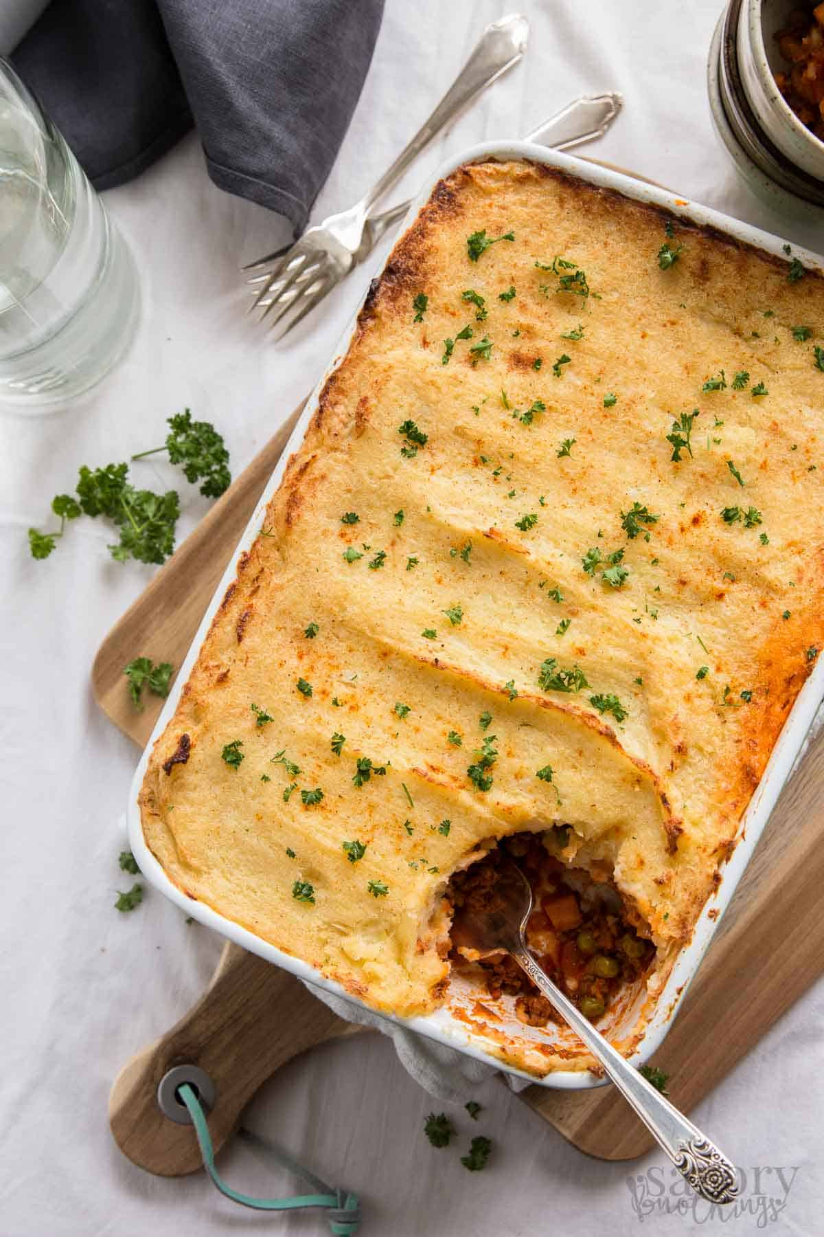 Sneak Extra Veggies Into Your Familys Diet With This Veggie Loaded Easy Cottage Pie Comes
