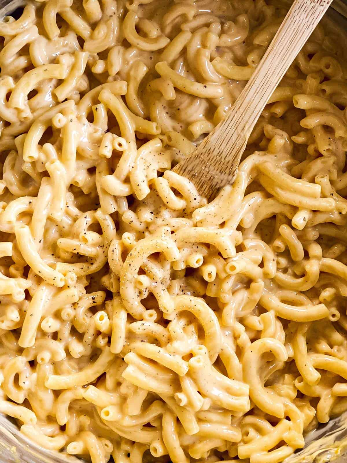 close up photo of Mac and cheese