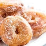 Cinnamon Sugar Apple Fritter Recipe
