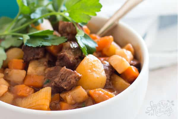 This Easy Classic Beef Stew Recipe Is Cooked In One Pot On The Stove Top