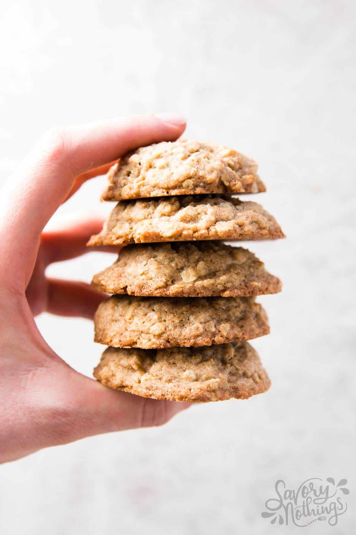 Recipes for oatmeal cookies from scratch