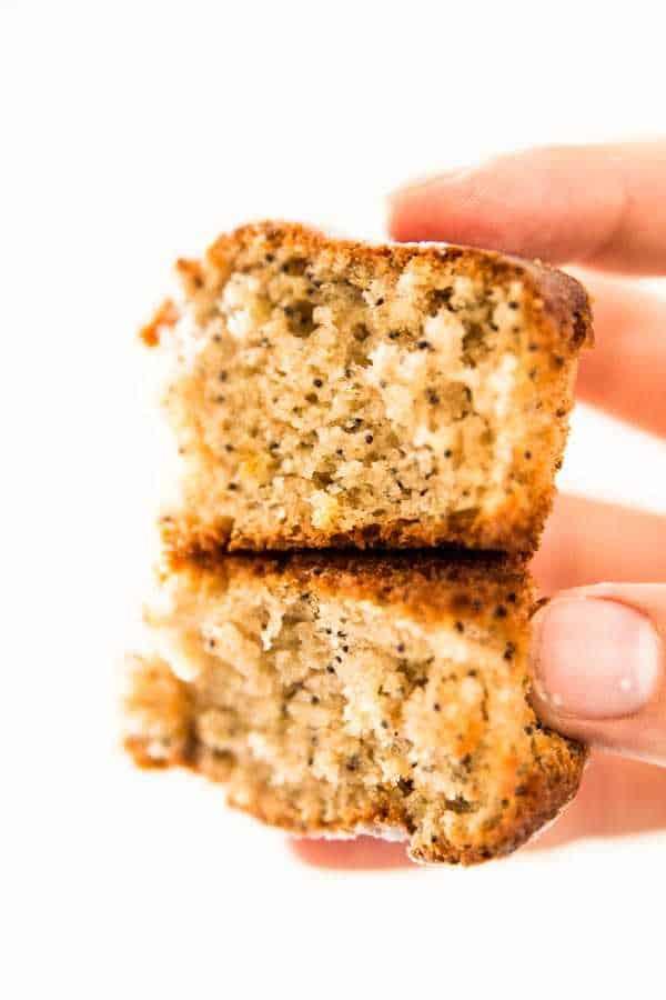 Healthier Lemon Poppy Seed Muffins with Greek Yogurt
