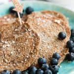 4 Ingredient Vegan Banana Oatmeal Pancakes