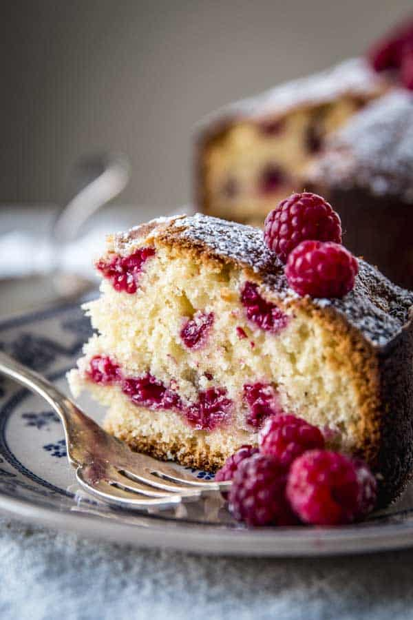 Diana Henry's Yogurt Raspberry Cake is a simple yet sophisticated baking recipe. Make it this weekend!