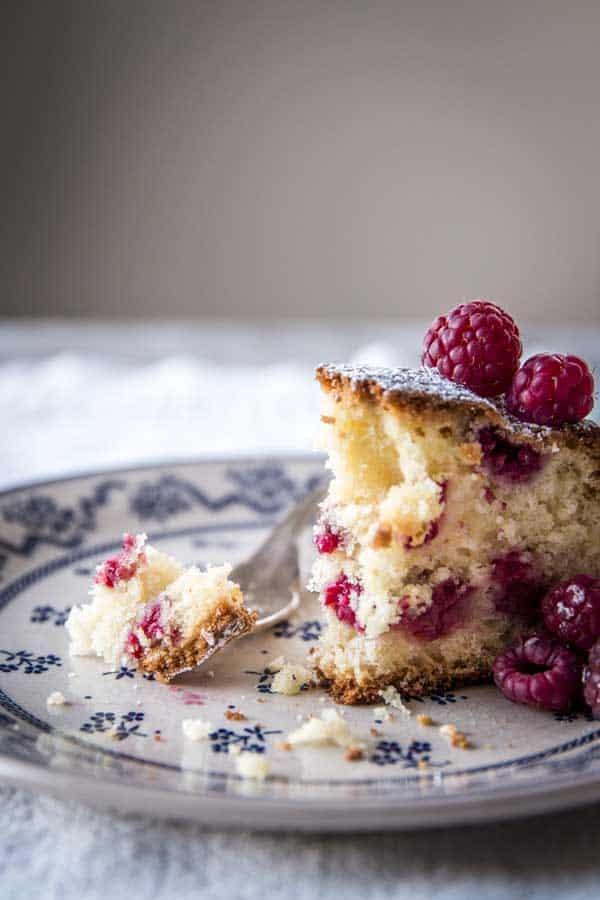 Diana Henry S Formidable Yogurt Raspberry Cake Will Feed