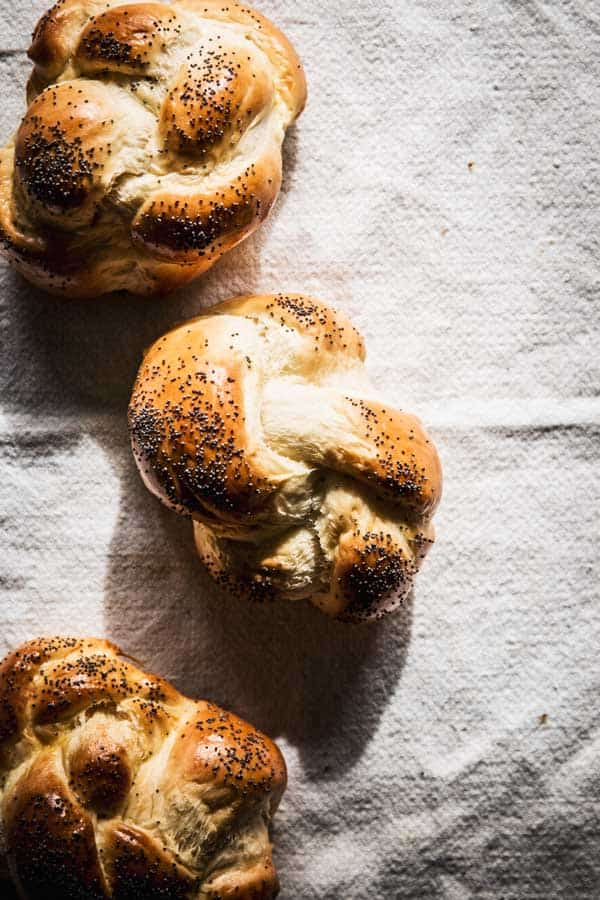 The fluffiest challah bread you'll ever make is Swiss Zopf!