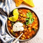 Healthy Slow Cooker Chili