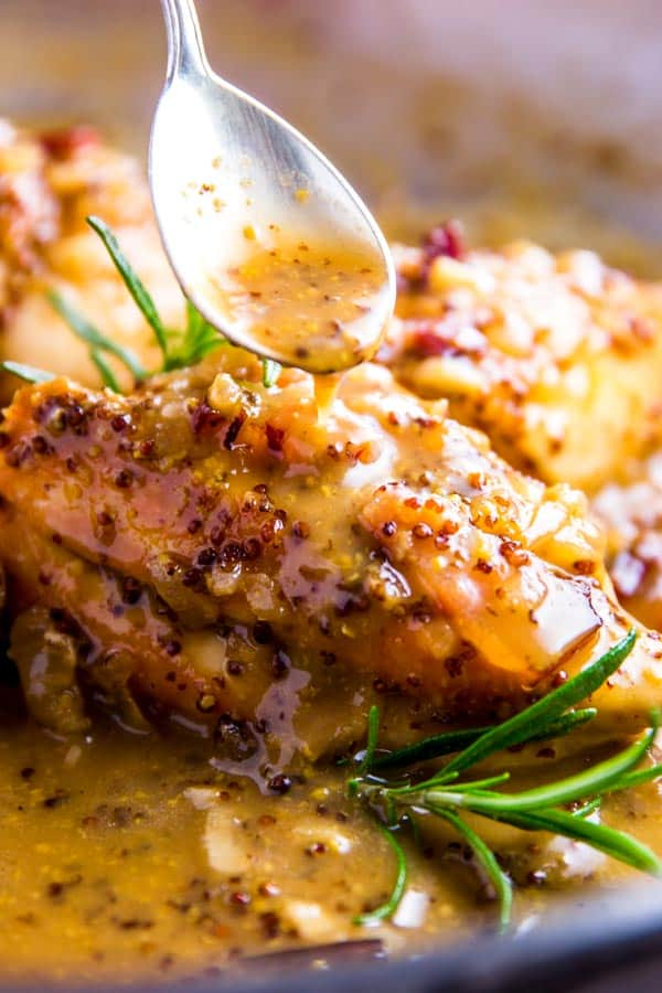 Honey Mustard Chicken With Bacon Savory Nothings