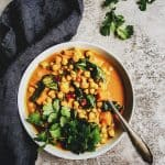 Healing Turmeric Chickpea Curry