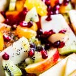 This winter fruit salad is easy to make, 100% healthy and tastes just amazing.