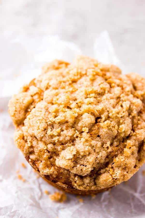 Banana Crumb Muffin Streusel Topping