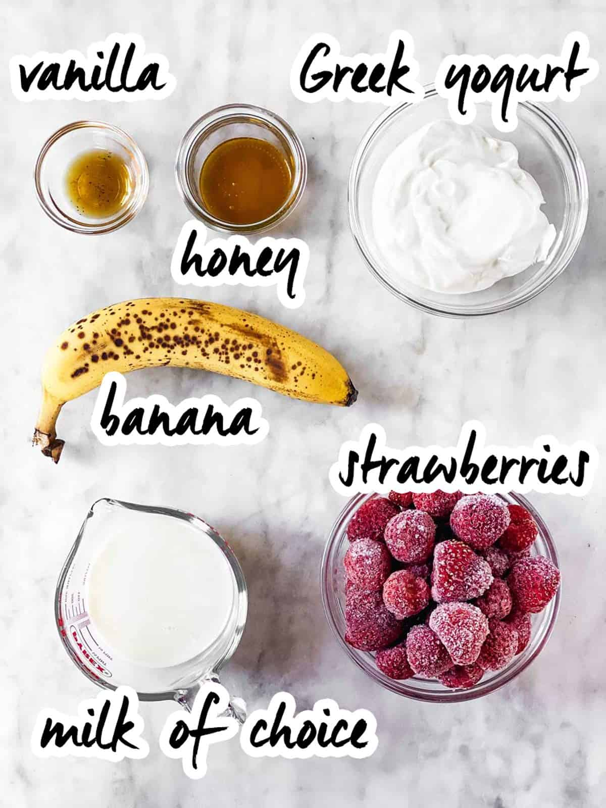 Strawberry Banana Smoothie Recipe Savory Nothings