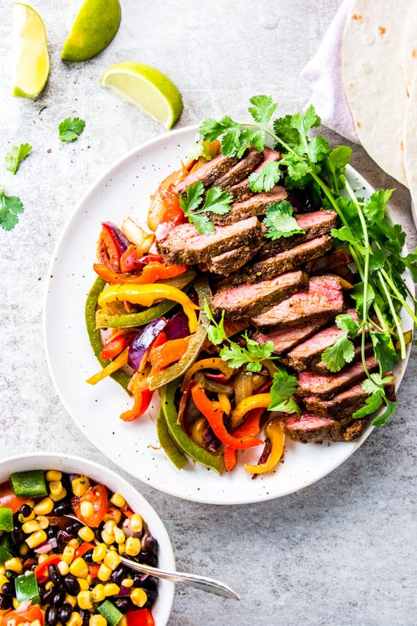 how to make steak fajitas
