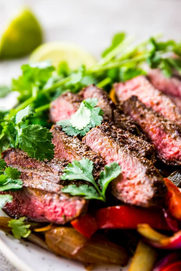 Perfect Steak Fajitas Savory Nothings
