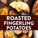 Roasted Fingerling Potatoes Pin 1