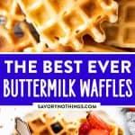 Buttermilk Waffles Pin 1