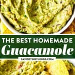 Easy Guacamole Image Pin