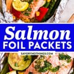 Salmon Foil Packets Image Pin 1