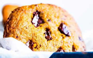 Pumpkin Chocolate Chip Cookies Image TK