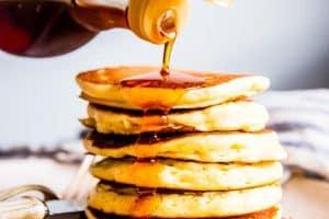 Buttermilk Pancakes Image TK
