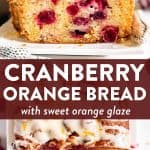 Cranberry Orange Bread Pin 1