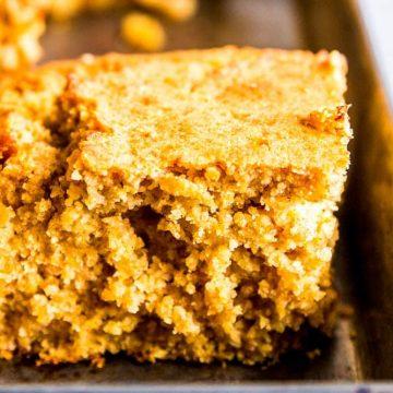 Honey Butter Cornbread Recipe Image TK