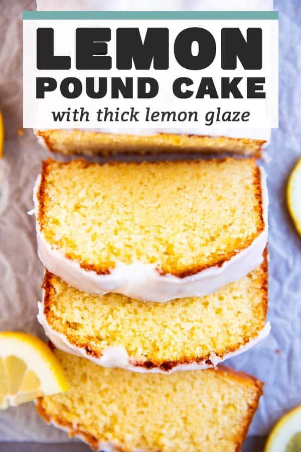 Lemon Pound Cake Image Pin 1