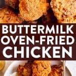 Buttermilk Oven Fried Chicken Pin 2