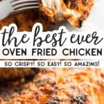 Oven Fried Chicken Pin 3