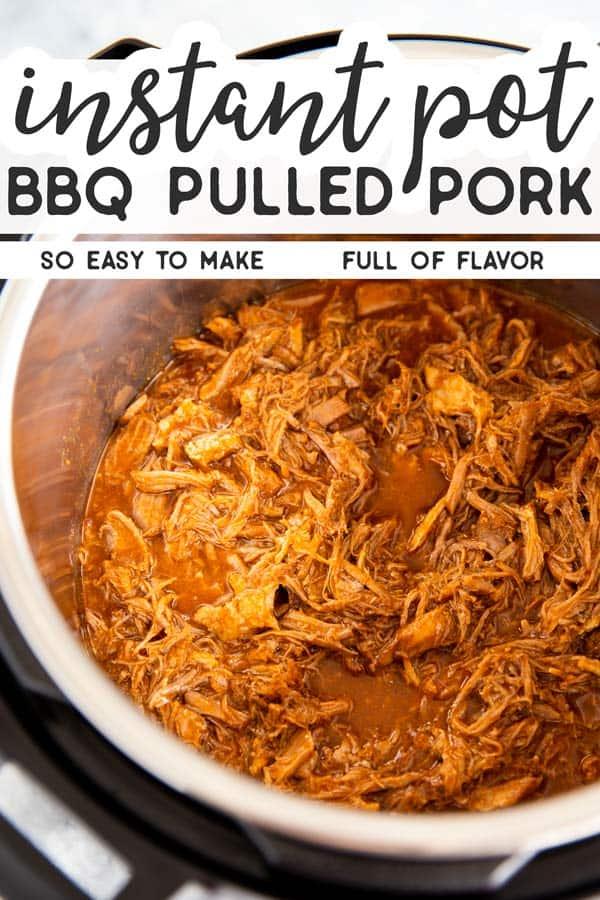 Honey BBQ Instant Pot Pulled Pork Pin 1