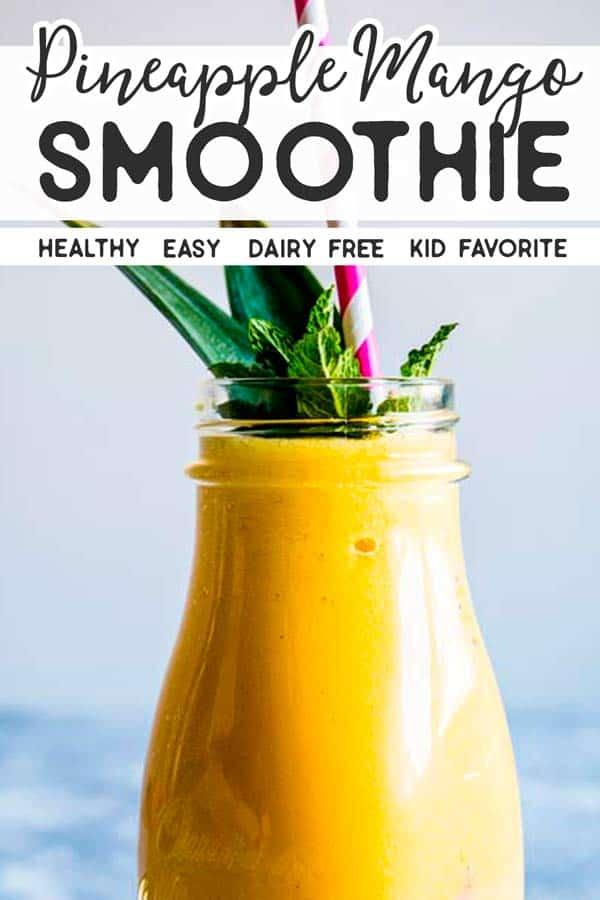 Pineapple Mango Smoothie Pin 5