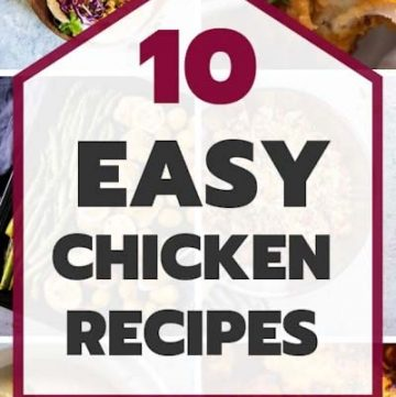 Easy Chicken Recipes Pin