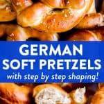 German Soft Pretzels Pin 1