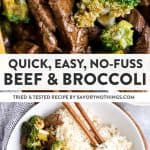 Beef and Broccoli Pin