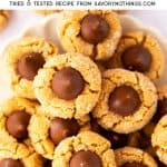 Peanut Butter Blossoms Image Pin 2