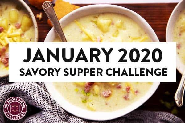 January 2020 Savory Supper Challenge Image Hero
