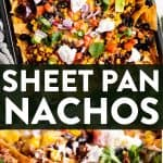 Sheet Pan Nachos Pin 1