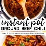 Instant Pot Chili Image Pin