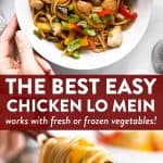 Chicken Lo Mein Image Pin